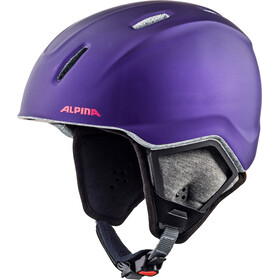 Alpina Carat XT Helm Kinderen, royal-purple matt